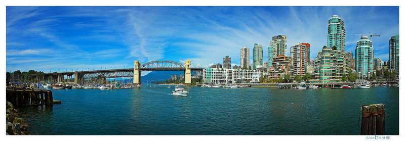Downtown Vancouver from Granville Island