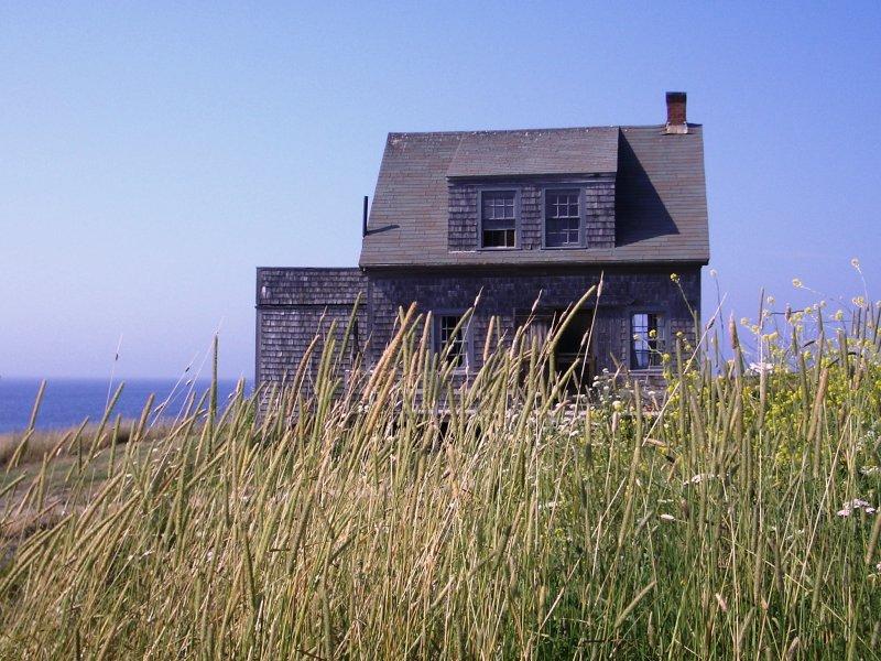 Cottage on Monhegan Island Maine
