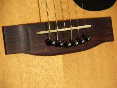 jedson guitars bridge saddle modification complete. Black Bedroom Furniture Sets. Home Design Ideas