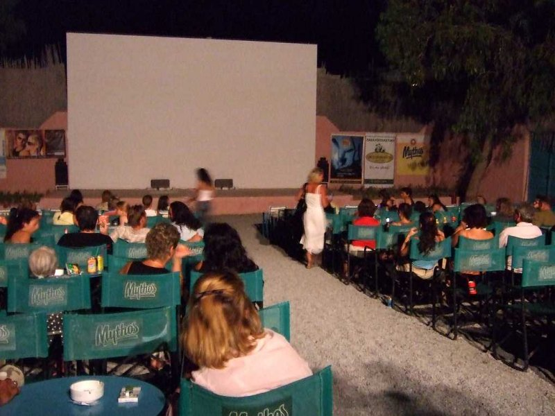 Open air cinema - first time in 36 years