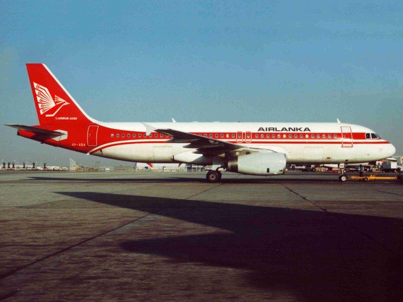 Airbus A-320 4R-ABA