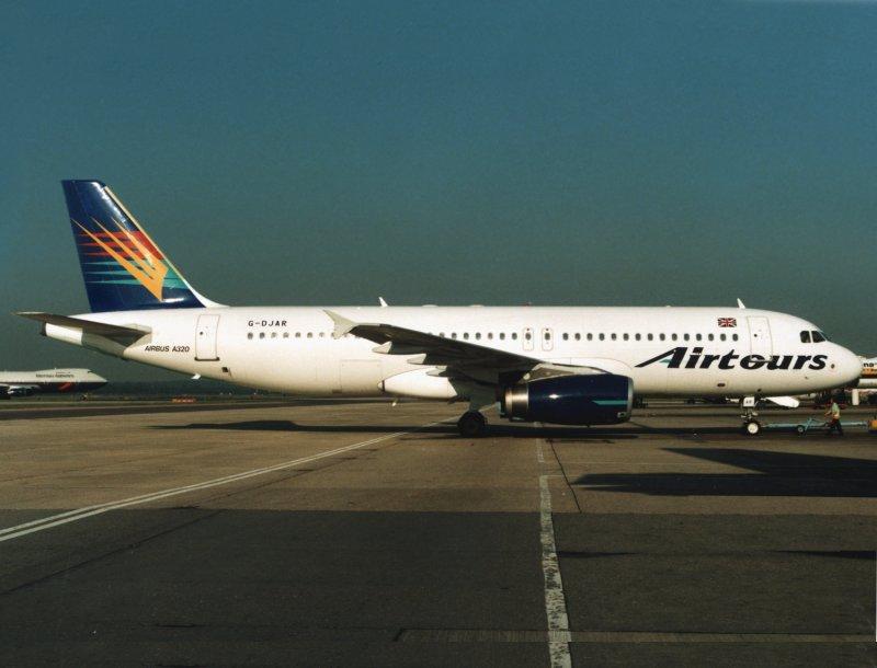 A320 G-DJAR