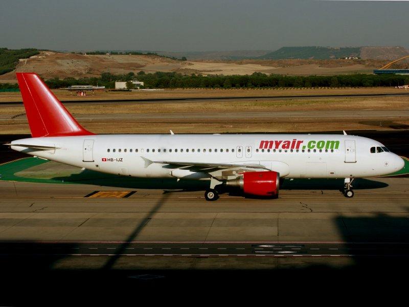 A320 HB-IJZ