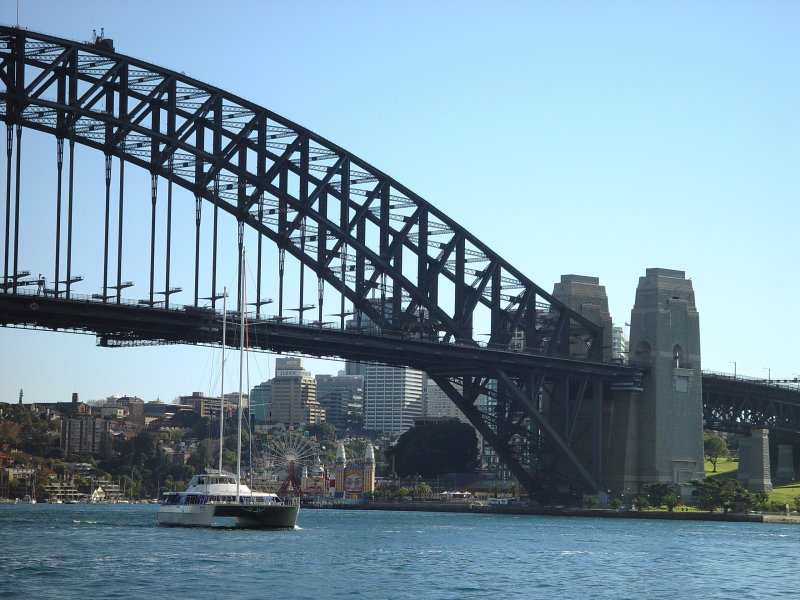 View from Opera House Promenade
