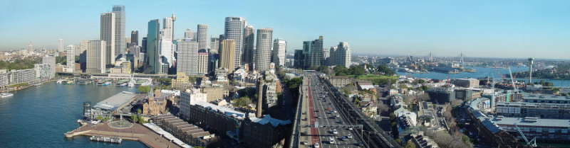 Sydney Pano from Harbour Bridge