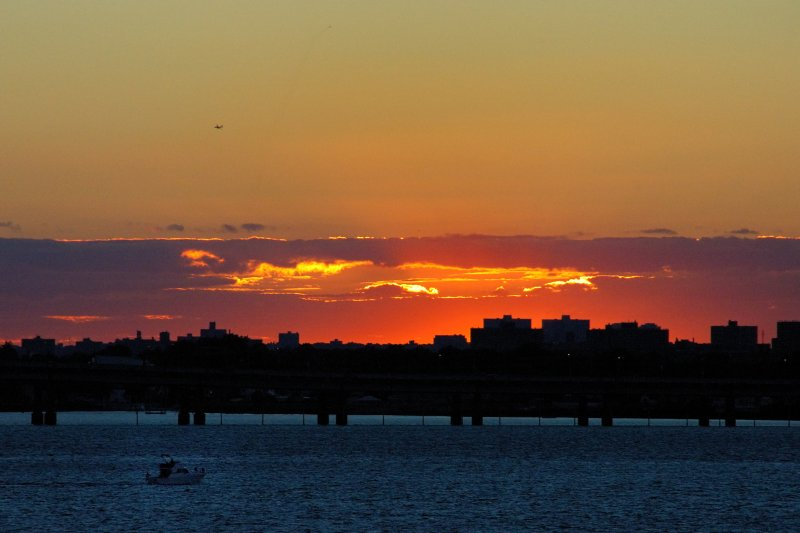 Sunset Over The Bronx