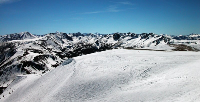 Mammoth mountain top