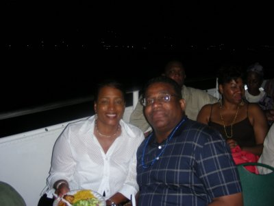 MIchelle and George Burgess from Westbury