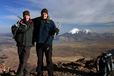 Chile Chapter 3: Lauca National Park and attack on Volcán Guallatire