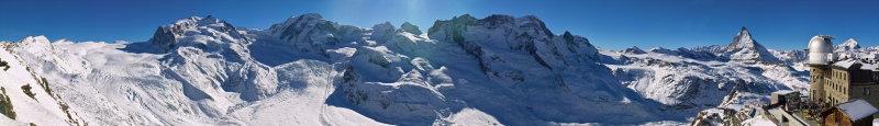 Zermatt - Dufour to Matterhorn