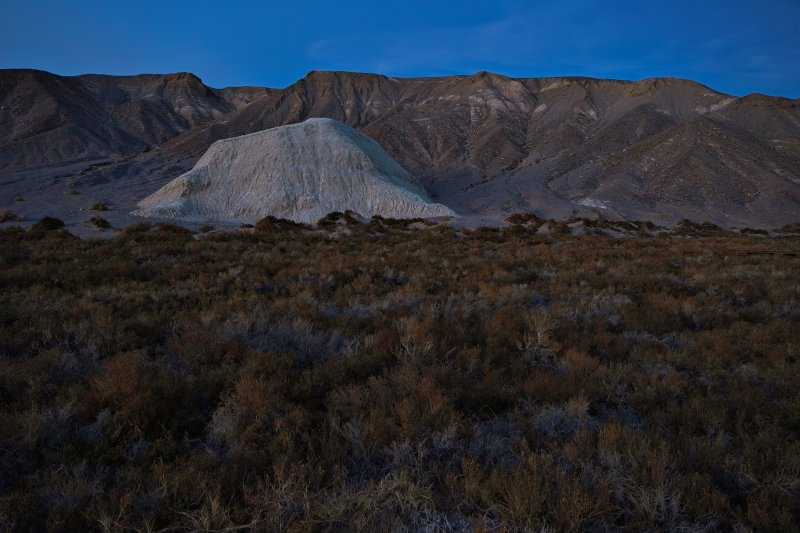 White Mountain after Dusk