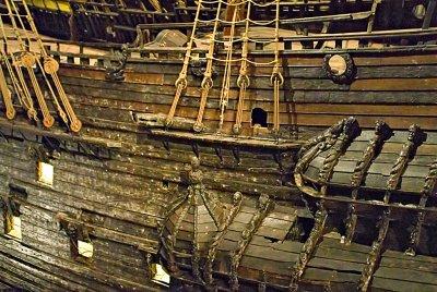 A closer look at the hull