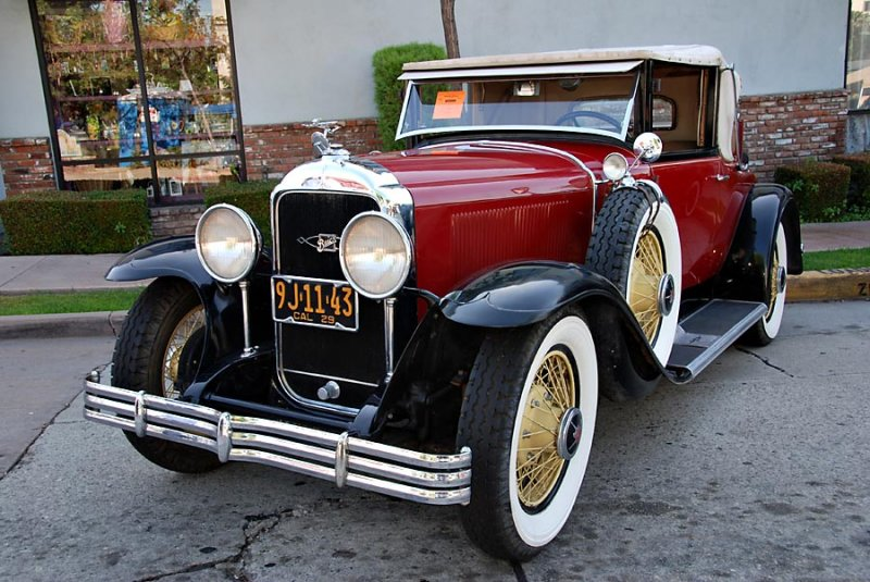 1929 Buick model 54CC - Convertible Coupe