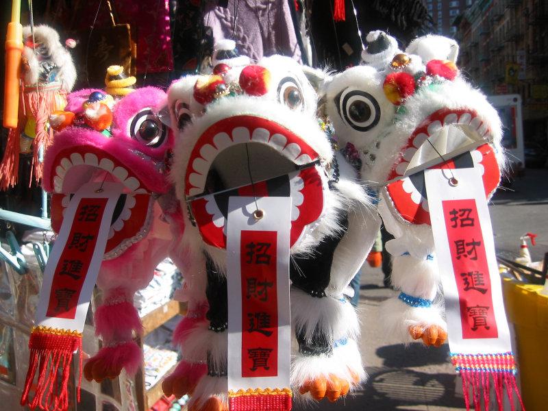 Chinese New Year Dragons