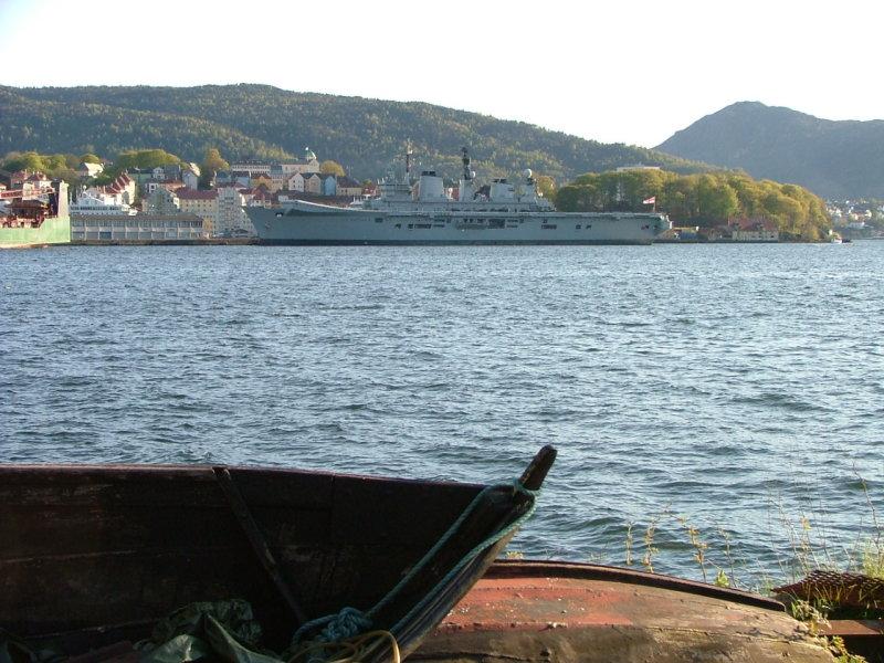 HMS Illustrious -Bergen-Norway-May 2007
