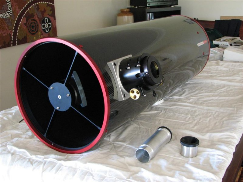 ASA N12 with CATSEYE collimation tools
