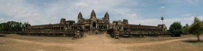 Rear View of Angkor Wat (Siem Reap, Cambodia)