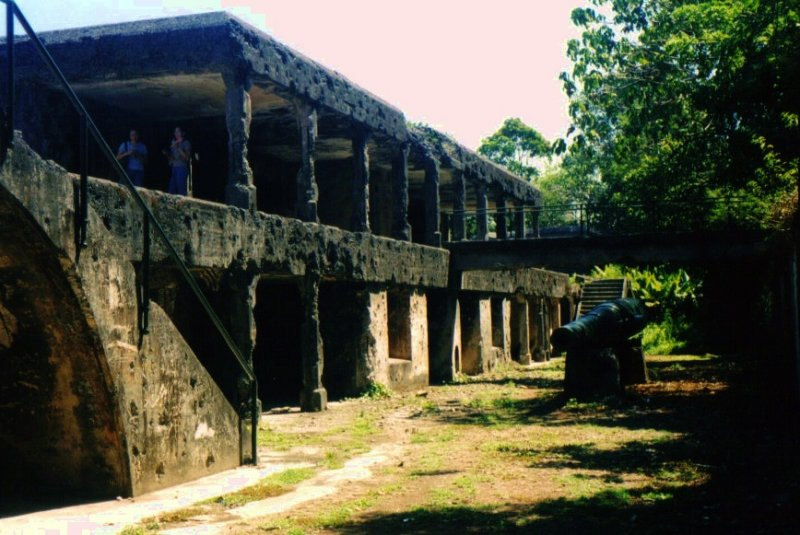WWII ruins