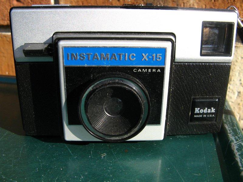 X-15 Instamatic by Kodak