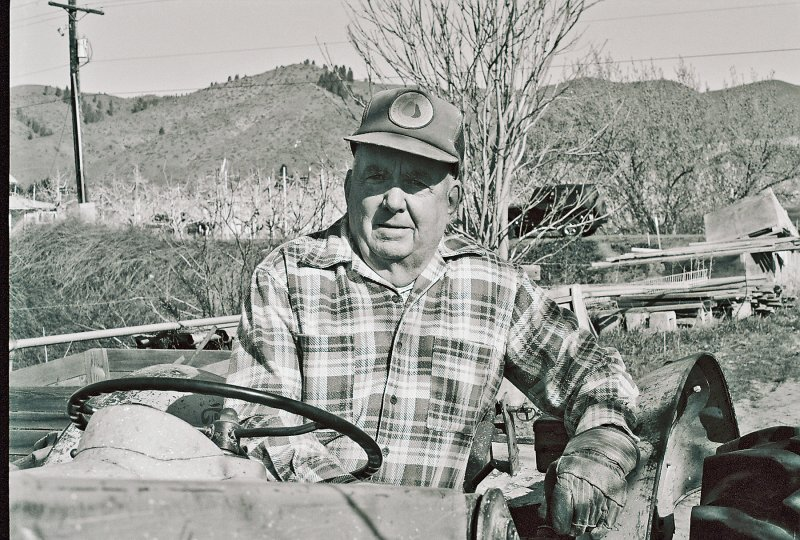 Vern Sollinger  Age 85 Year Old Orchardist