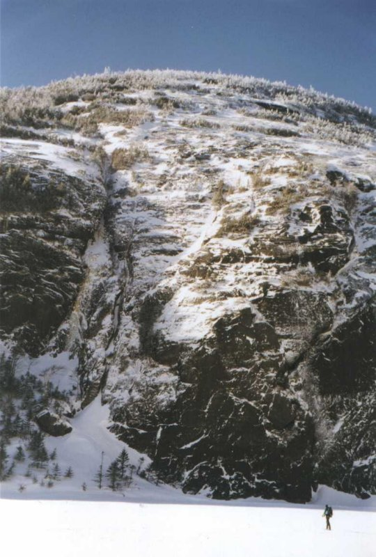 Colden Mountain.. Me at the bottom right