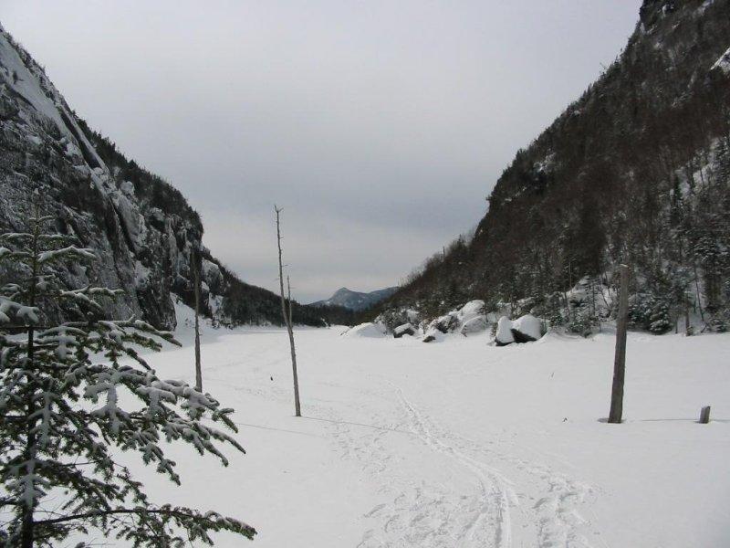 2nd lake to cross... frozen 24