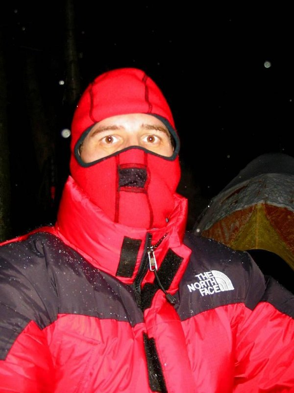 ME!!! in my North Face warmies