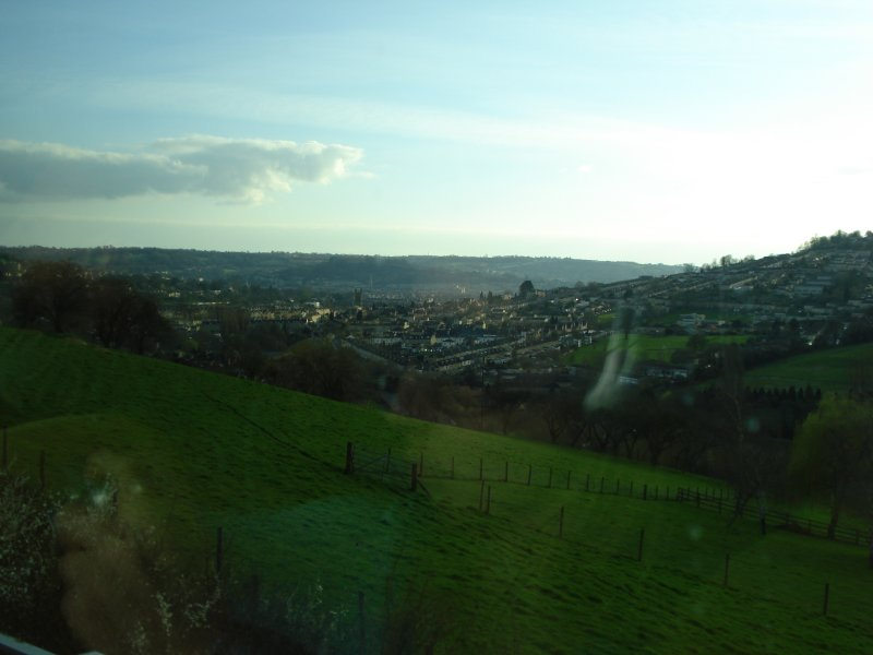 parting view of Bath...
