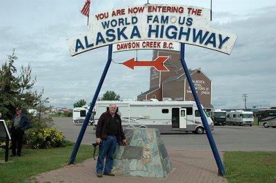 Mile 1, Alaskan Highway