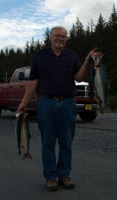 Salmon Fishing in Valdez
