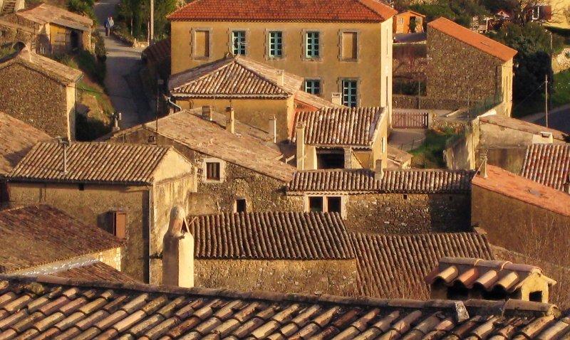 toits de Saint-Montan