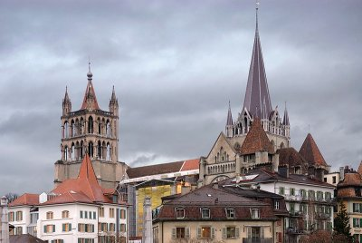 View of the Cathedral from Pont Ch. Bressiers