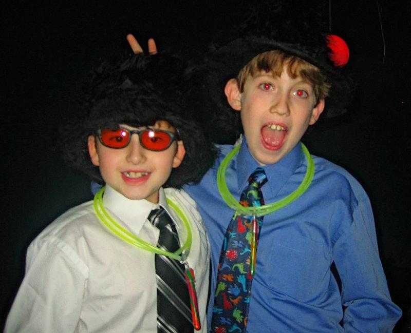 Boys at a Bat Mitzvah<br>8485