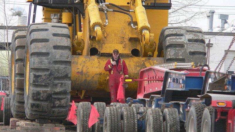 Letourneau 2350 front end loader