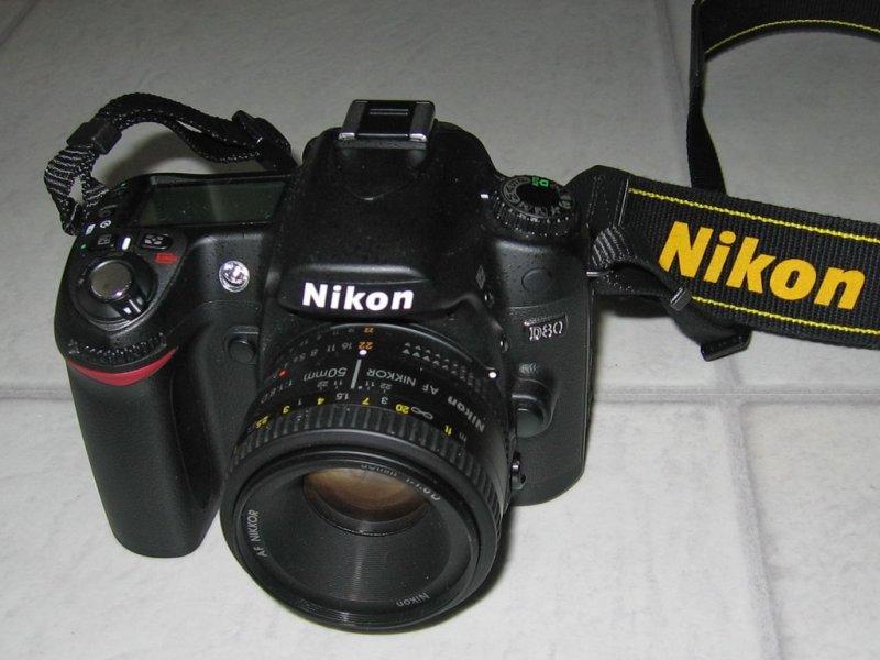 Nikon D80 - Nikkor 50mm f/1.8D AF