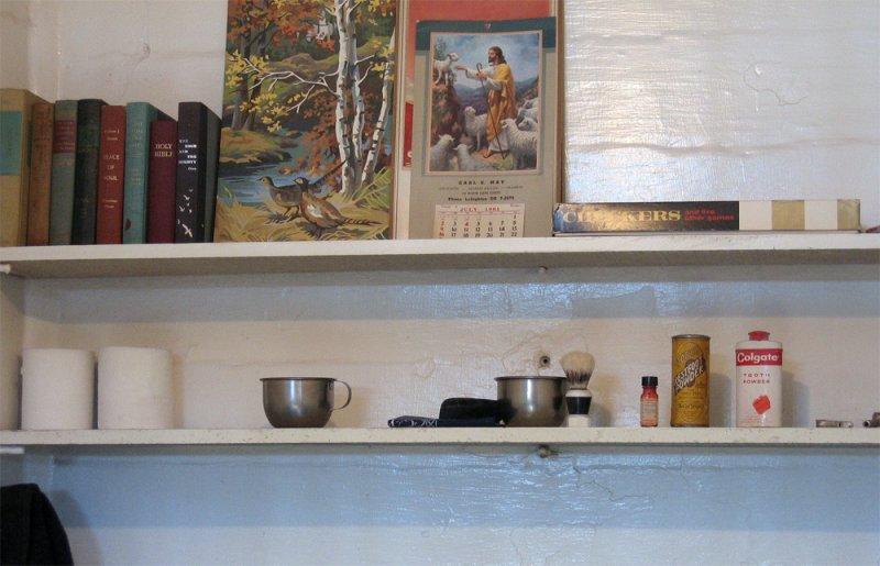 Cell shelf items