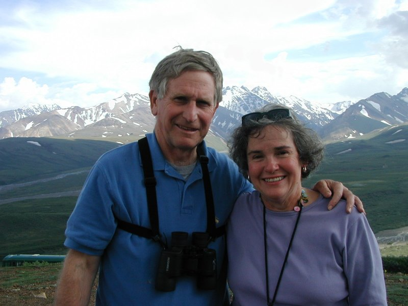 Clarkson and Mary Ann taken on a trip to Alaska in 05