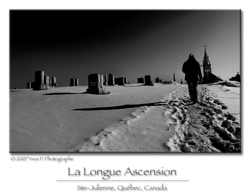 La longue ascension ...
