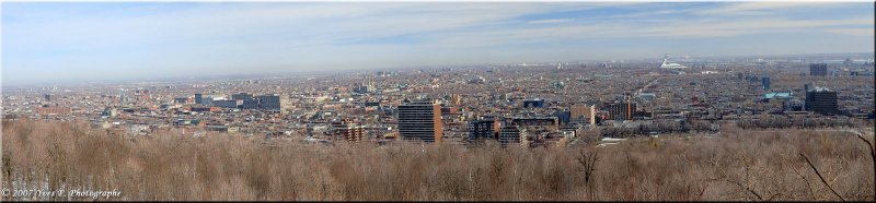 Pano Montreal March 2007
