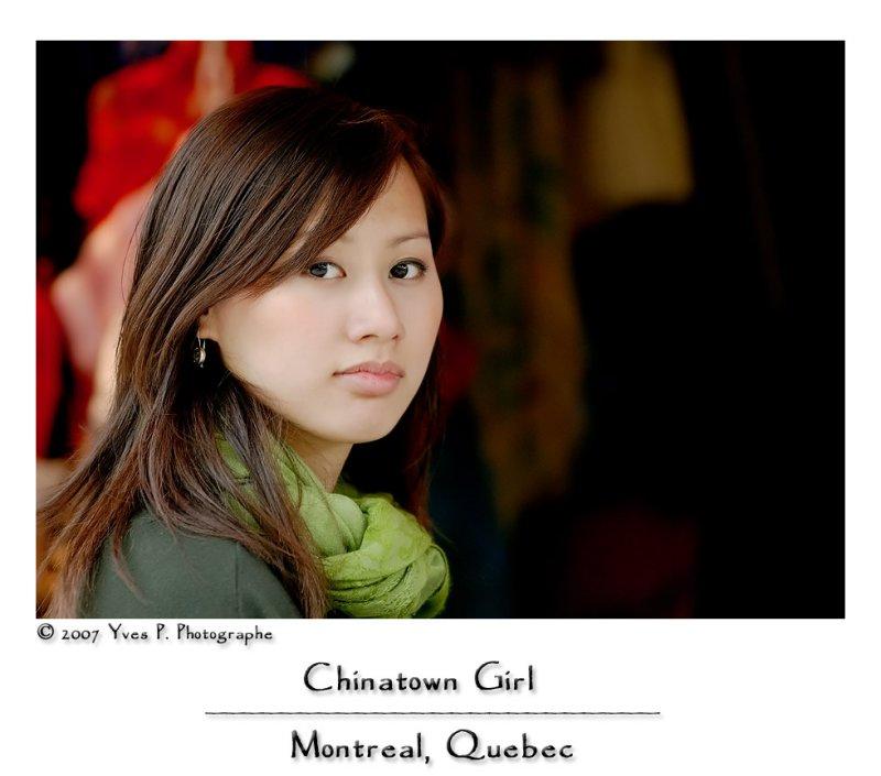 Chinatown Girl ...