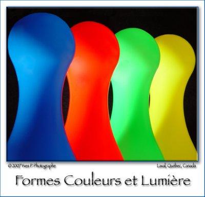 Formes colorées ...