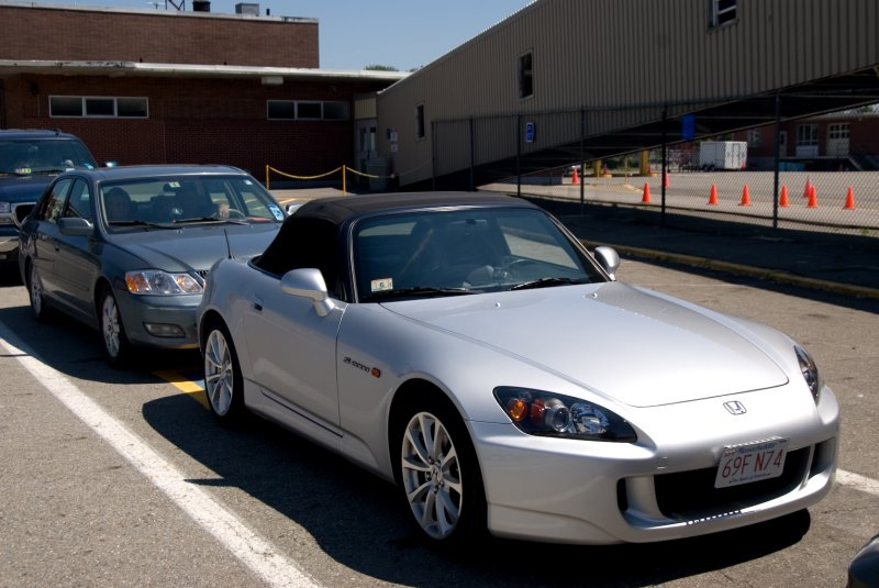 S2K Waiting to Load on Cat.jpg