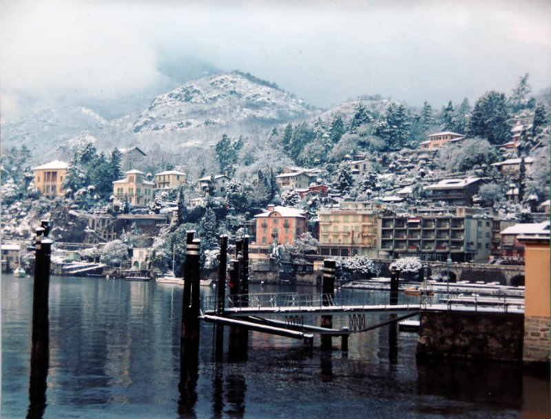 Ascona - Lago Maggiore (1977) while visiting my Great Aunt