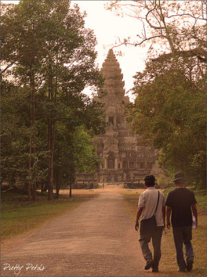 Walkway Leading To Angkor Wat