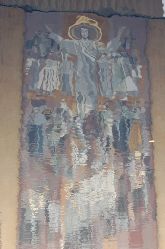 Reflection of Word of Life mural