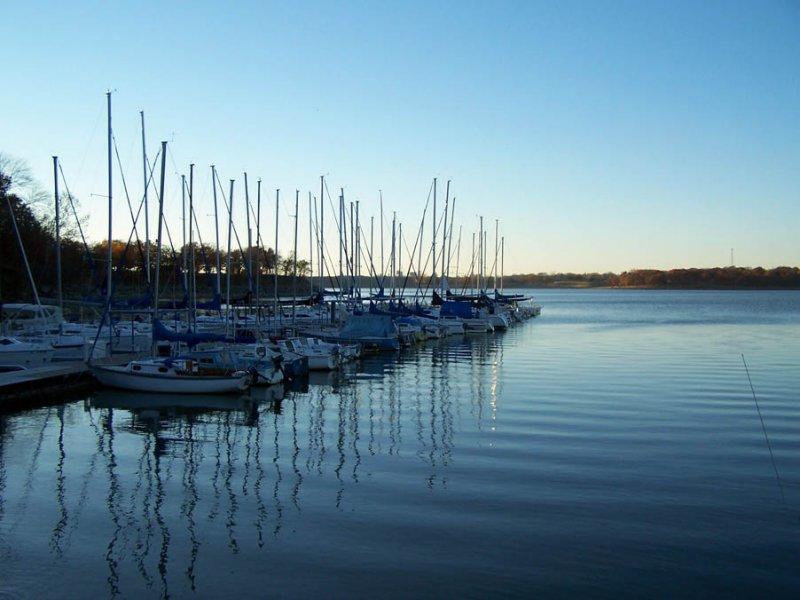 Red Bud Bay Marina on Lake Oolagah
