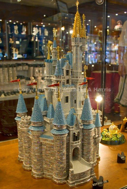 Gemmed Cinderellas Castle - Arribas Brothers