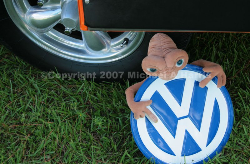 Extraterrestrial Endorsement for Volkswagen?