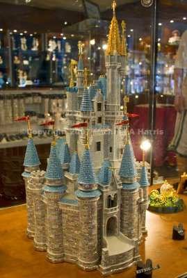Gemmed Cinderella's Castle - Arribas Brothers