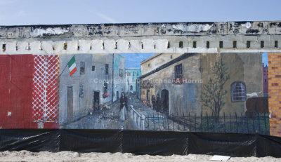 Italian Restaurant Mural